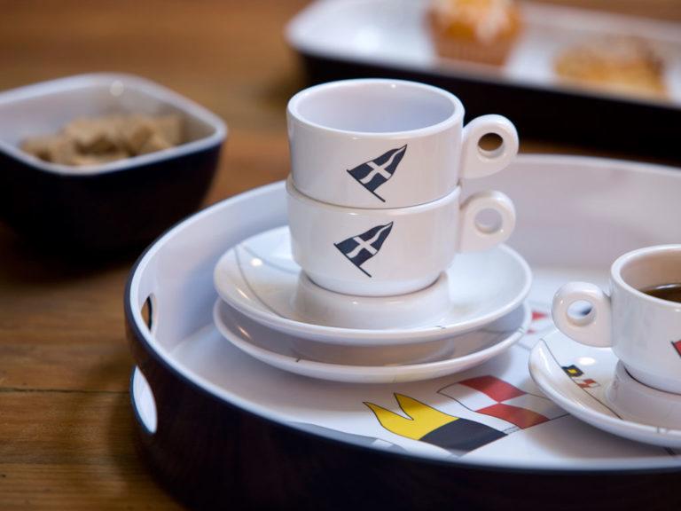 MELAMINE COFFEE SET, REGATA