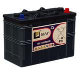 Тяговый аккумулятор SIAP 6 GEL L3 ( 12В 52Ач / 12V 52Ah ) - фотография