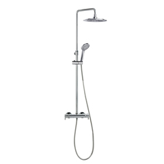 Душевая система с термостатом и тропическим душем для ванны DRAKO 335402RP240