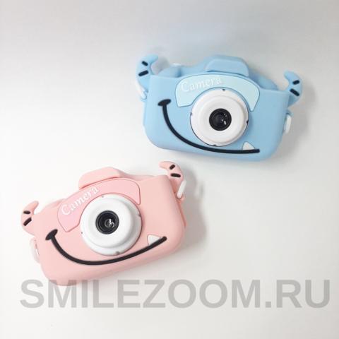 Детский фотоаппарат SmileZoom Fun Camera Монстрик / В ассортименте
