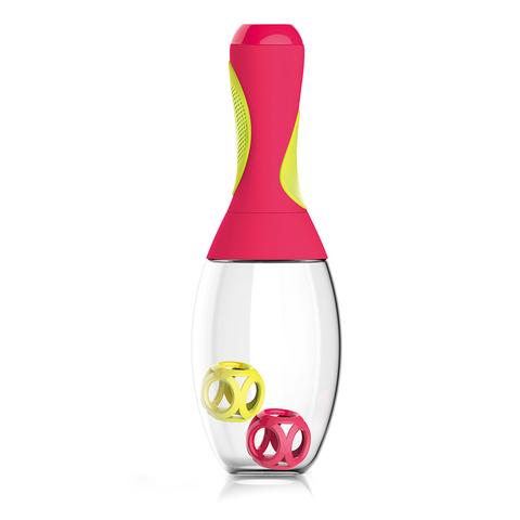 Шейкер Asobu Samba (0,6 литра), красный/желтый