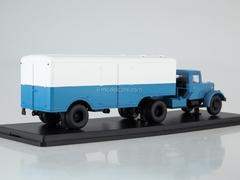 MAZ-200V with semitrailer MAZ-5217 blue-white 1:43 Start Scale Models (SSM)