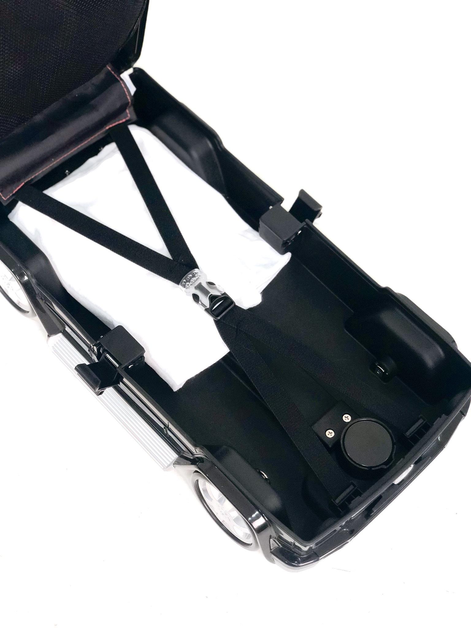 Детский чемодан Mercedes-Benz Gelandewagen Черный