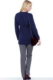 Блузка для беременных 01385 синий