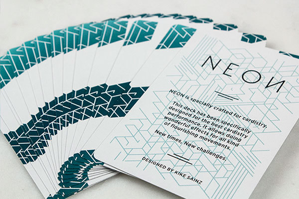 Карты для кардистри Bicycle Neon