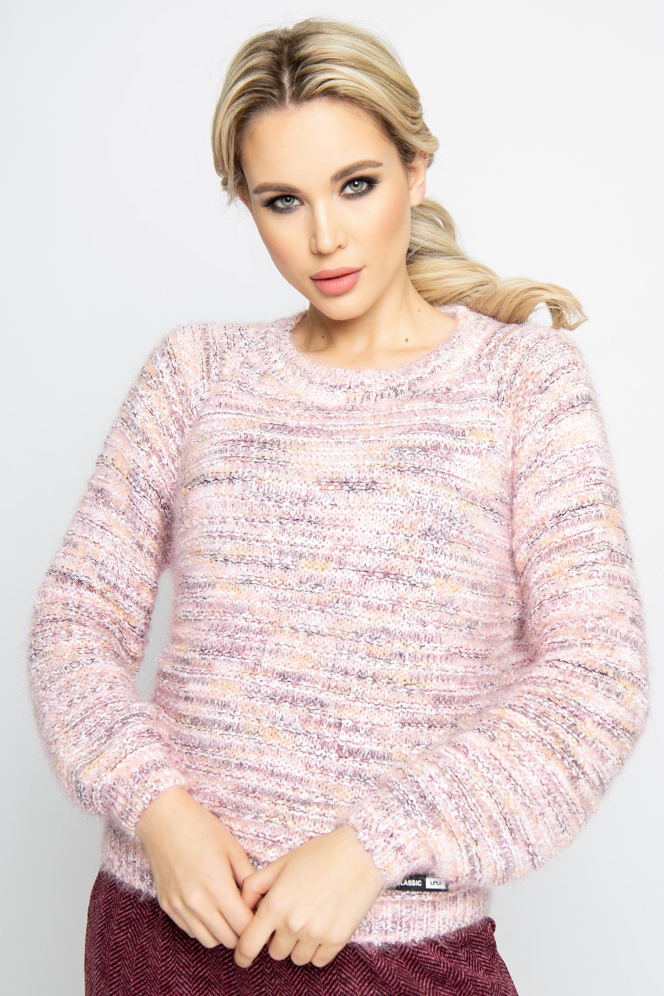 """Пуловер """"Ясмина"""" (пудра)"""