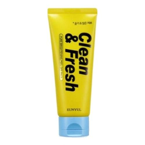 Маска-пленка для сияния кожи Eunyul Clean&Fresh Pure Brightening Peel Off Pack 120мл