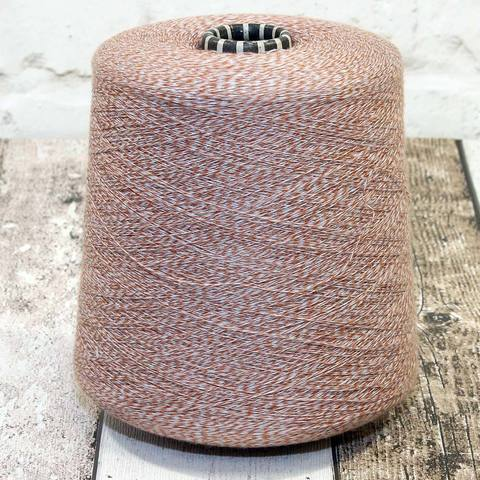 Хлопок FILATI COLOR STYLE 1700 серо-оранжевый мулине