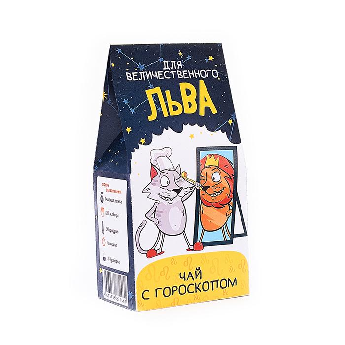 Купить подарочный чай в Перми с гороскопом для Львов на 2019 год