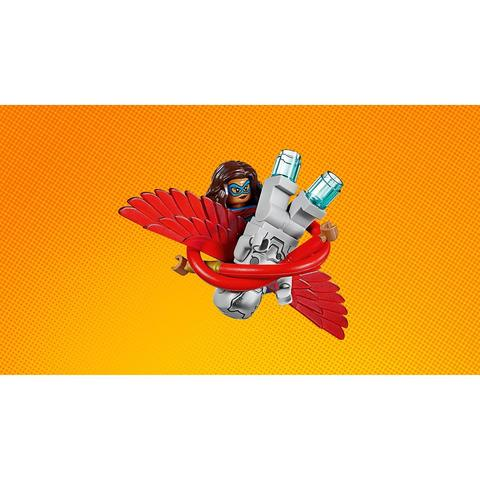 LEGO Super Heroes: Воздушная погоня Капитана Америка 76076 — Captain America Jet Pursuit — Лего Супергерои Марвел