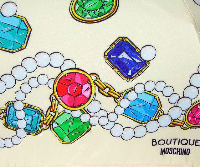 Зонт складной Moschino 7120-54-I Jewels