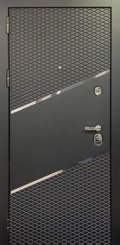 Входная дверь ACOUSTIC X (Черный кварц)