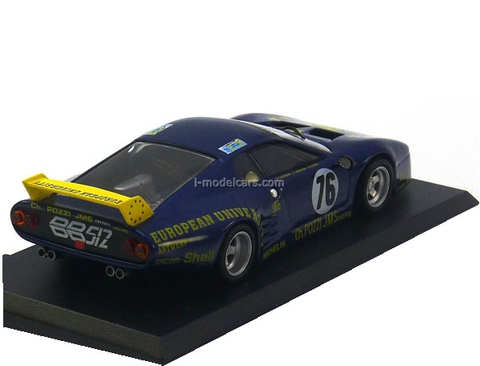 Ferrari 512 BB LM Le Mans blue 1:43 Eaglemoss Ferrari Collection #51