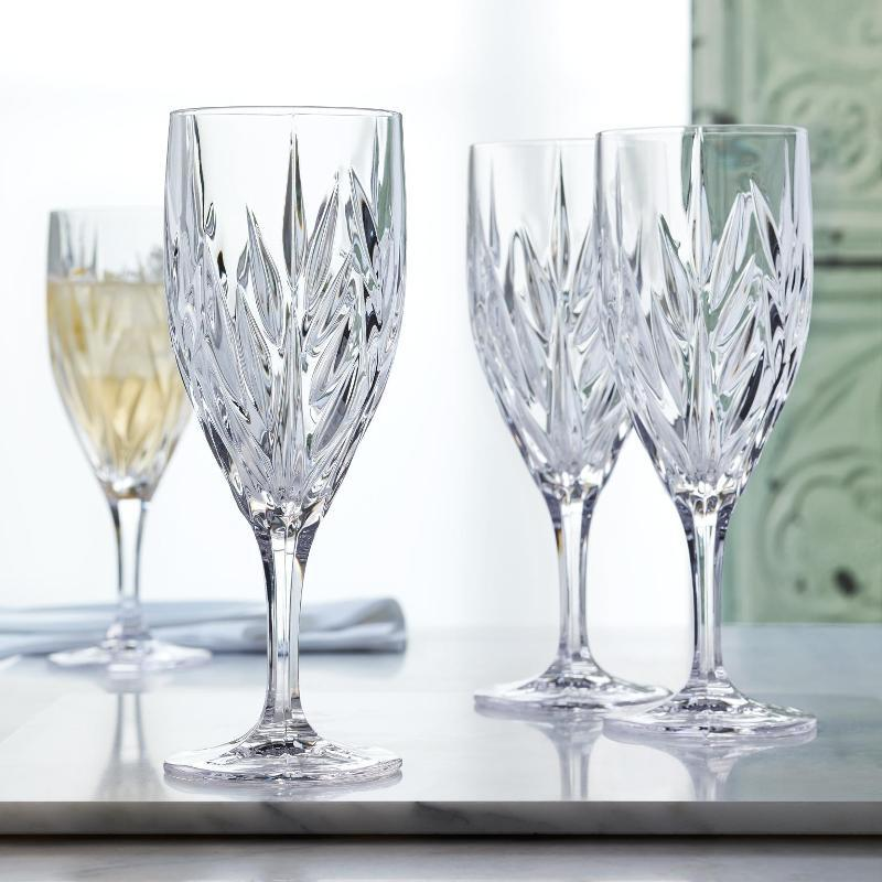 Набор из 4 хрустальных фужеров для воды IMPERIAL, 340 мл imperial plus набор фужеров 6шт вино 315мл 4 64 pasabahce 4 1063139