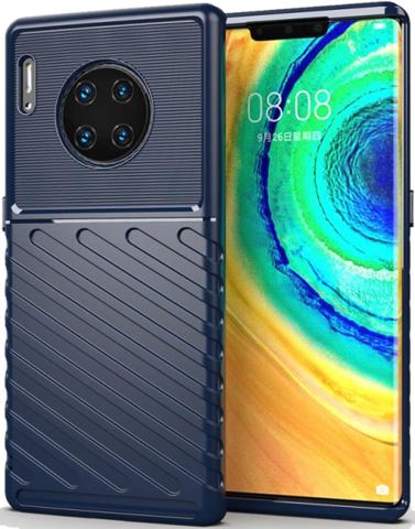 Чехол Huawei Mate 30 Pro (Mate 30 RS) цвет Blue (синий), серия Onyx, Caseport