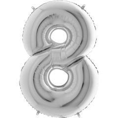 Цифра 8 (Серебряная)