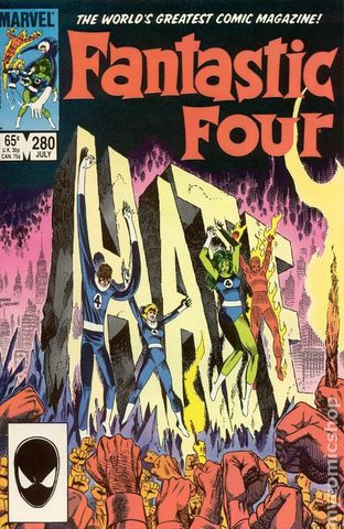Fantastic Four (1961 1st Series) #280