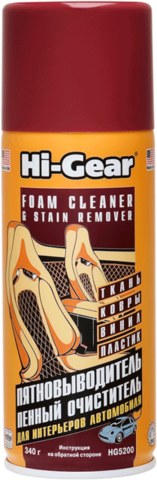 5202 Пенный очиститель и пятновыводитель (аэрозоль)  SUPER STUFF FOAM CLEANER & STAIN REMOV, шт