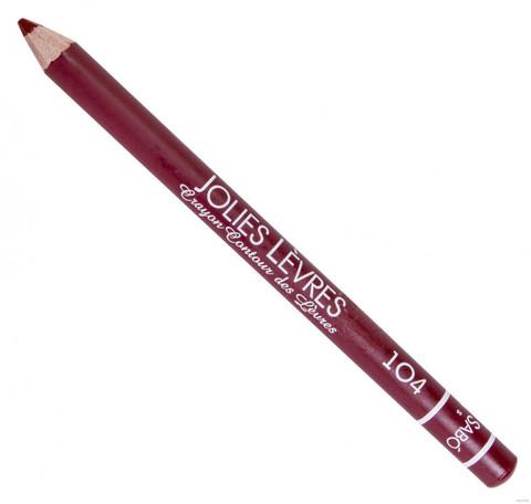 Карандаш для губ светлый коричневый №104 Vivienne Sabo JOLIES LEVRES