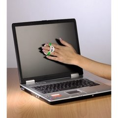 Чистящая салфетка из микрофибры Hama LCD/TFT Cleaning Frog for Laptops