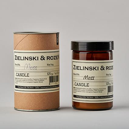 Свеча MOSS ZIELINSKI & ROZEN (125г)