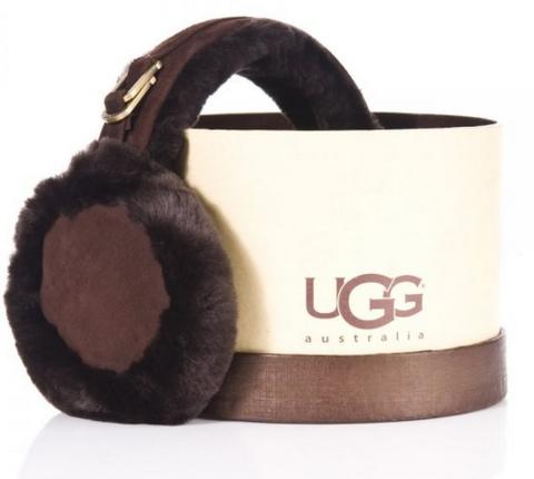 Наушники Ugg Earmuff Chocolate - UggAustralia-msk.ru