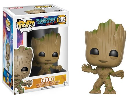Funko POP! Bobble: Guardians of the Galaxy 2: Groot