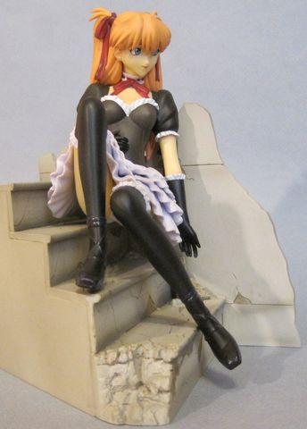 Evangelion EVA Asuka Gothic Black