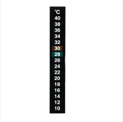 Термометр жидкокристаллический 10+40°С