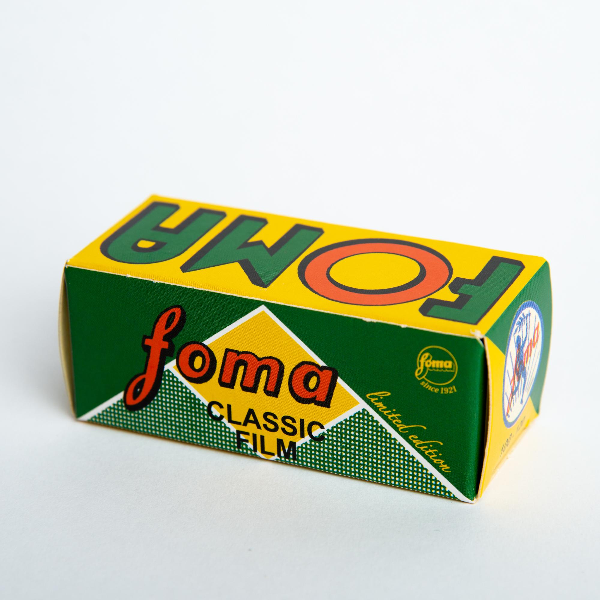 Фотопленка Foma Fomapan 100 Classic Limited Edition/120 B&W