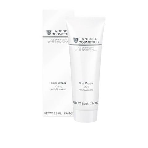 Крем против рубцовых изменений кожи всех типов Retexturising Scar Cream, All skin needs, Janssen Cosmetics, 75 мл