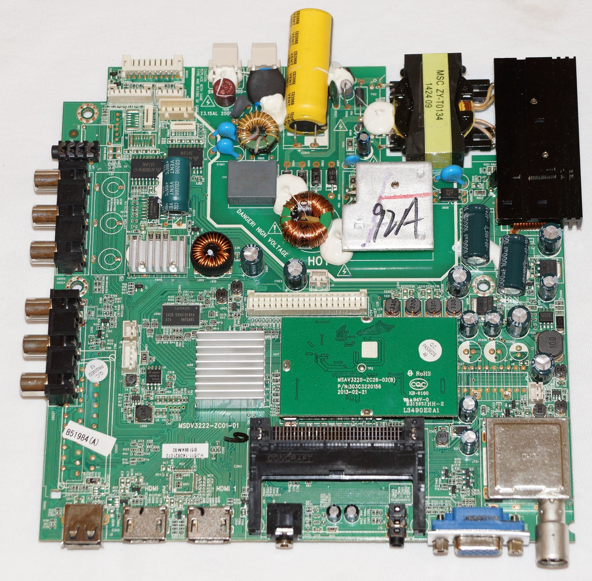 MSDV3222-ZC01-01 maiboard телевизора MYSTERY