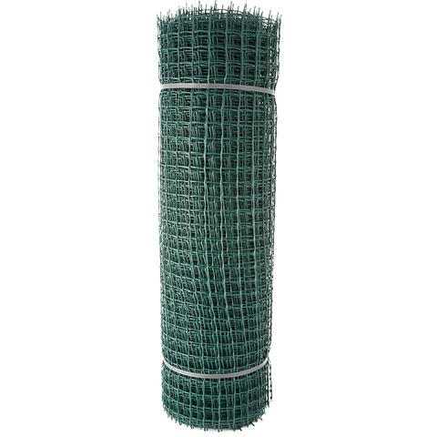 Купить пластиковую садовую сетку строительную ПРОФИ 33x33мм, 1x20м в Домодедово, Обнинске, Калуге, Москве недорого