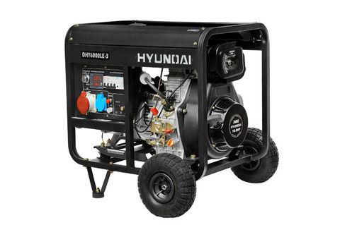 Кожух для дизельного генератора HYUNDAI DHY 6000LE-3