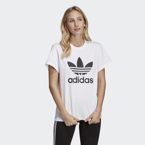 Футболка женская adidas ORIGINALS BOYFRIEND TREFOIL