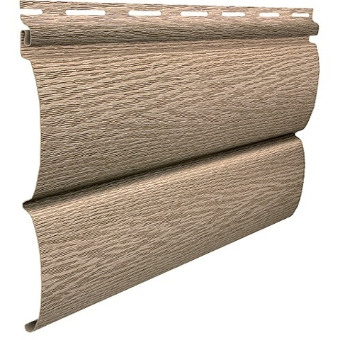 Сайдинг Ю пласт Тимберблок акриловый ясень золотистый 3400х230 мм