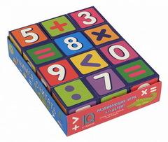 Умные кубики в поддончике. 12 штук. Учимся считать