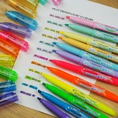 Текстовыделители пастельные Pilot FriXion Light - Soft Colors (6 цветов)