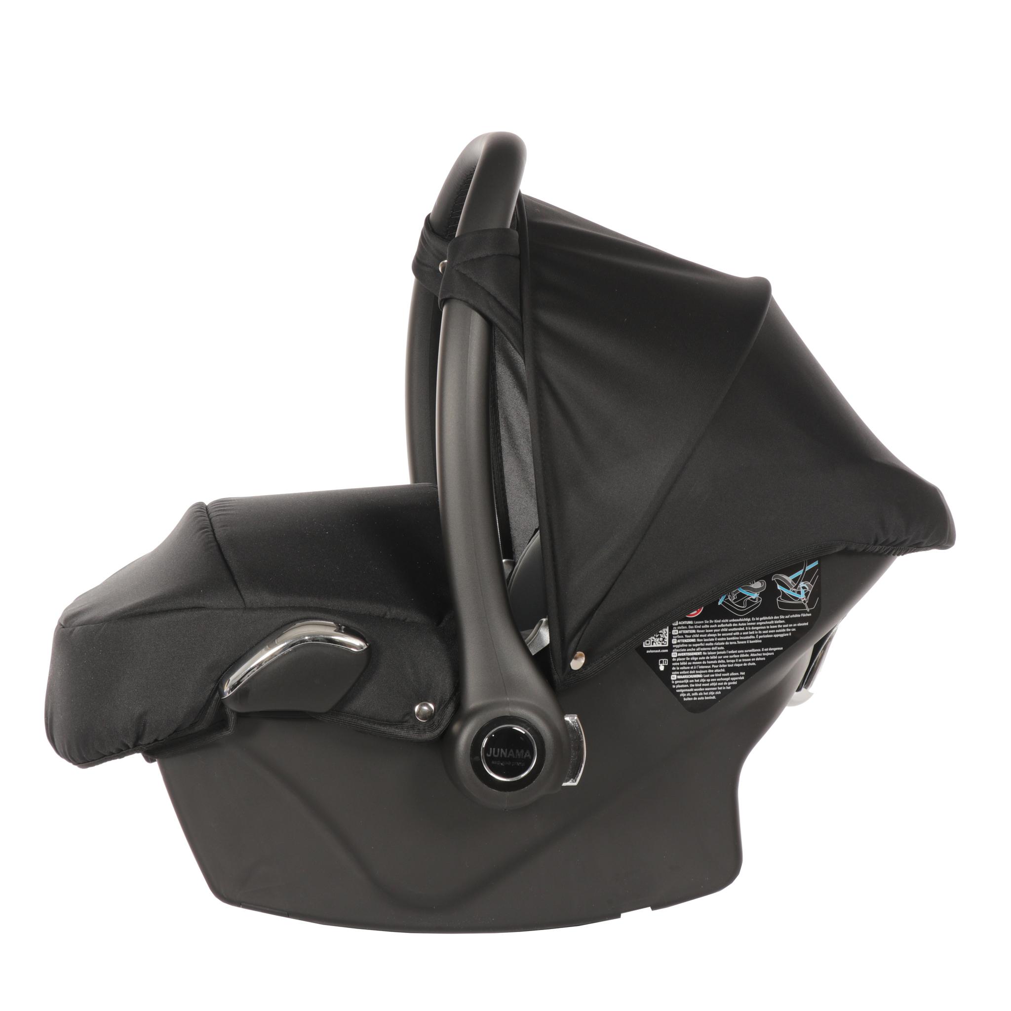 JUNAMA Автокресло JUNAMA (Ткань) черное с серебром  AJ-S03 AJ-S03_черныйсеребро.JPG