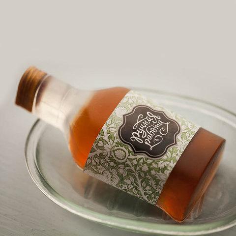 Форма для мыловарения Бутылка коньяка