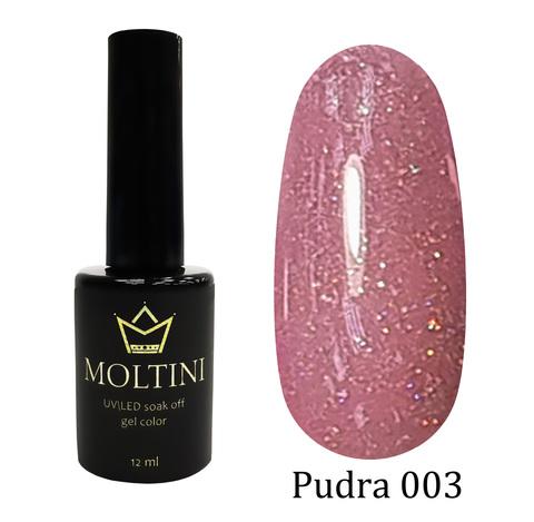 Гель-лак Moltini Pudra 003, 12 ml