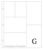 Фотофайлы Project Life-Дизайн G-штучно