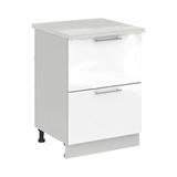 Кухня Капля 3D Шкаф нижний комод СК2 400