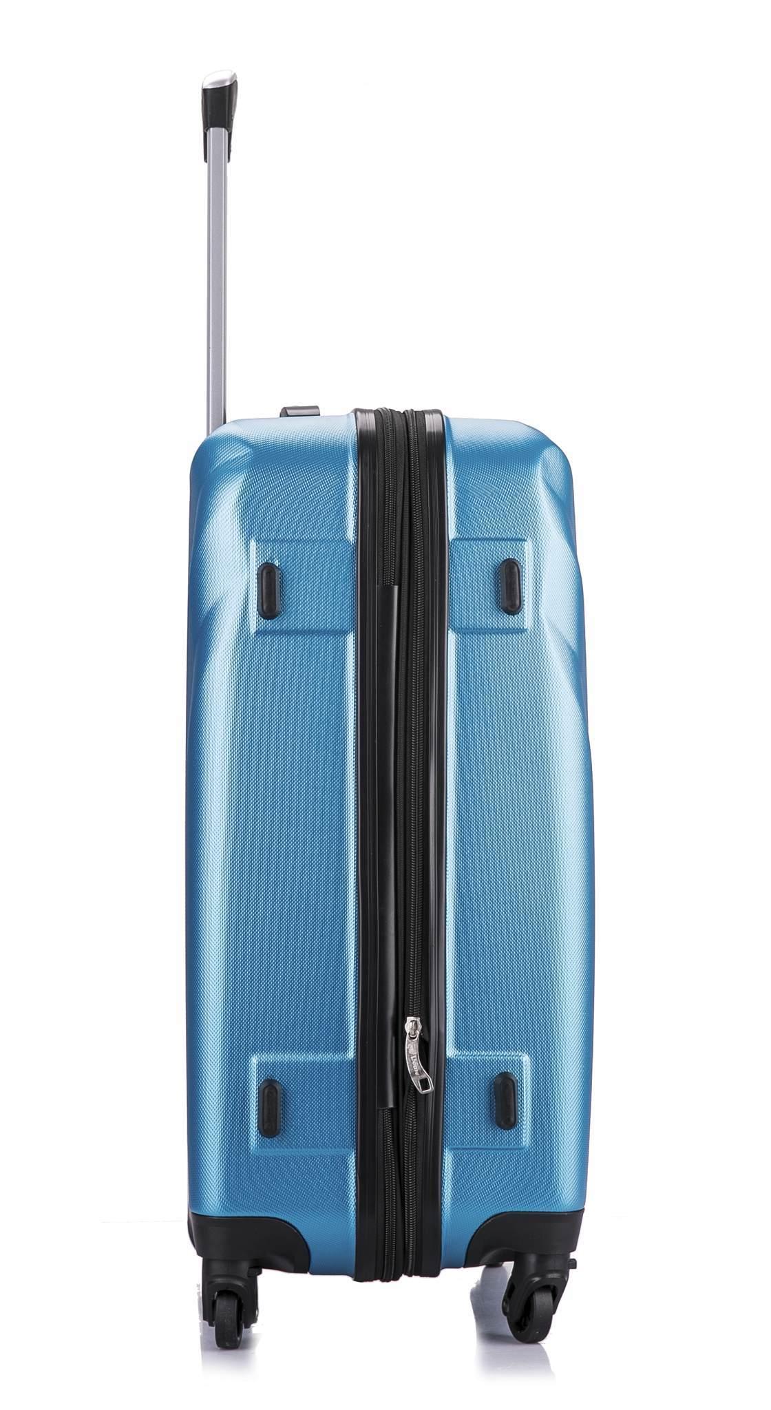 Чемодан с расширением L'case Phuket-28 Синий (XL)