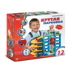 Играем вместе Гараж 6 уровней, с машинками (154452)
