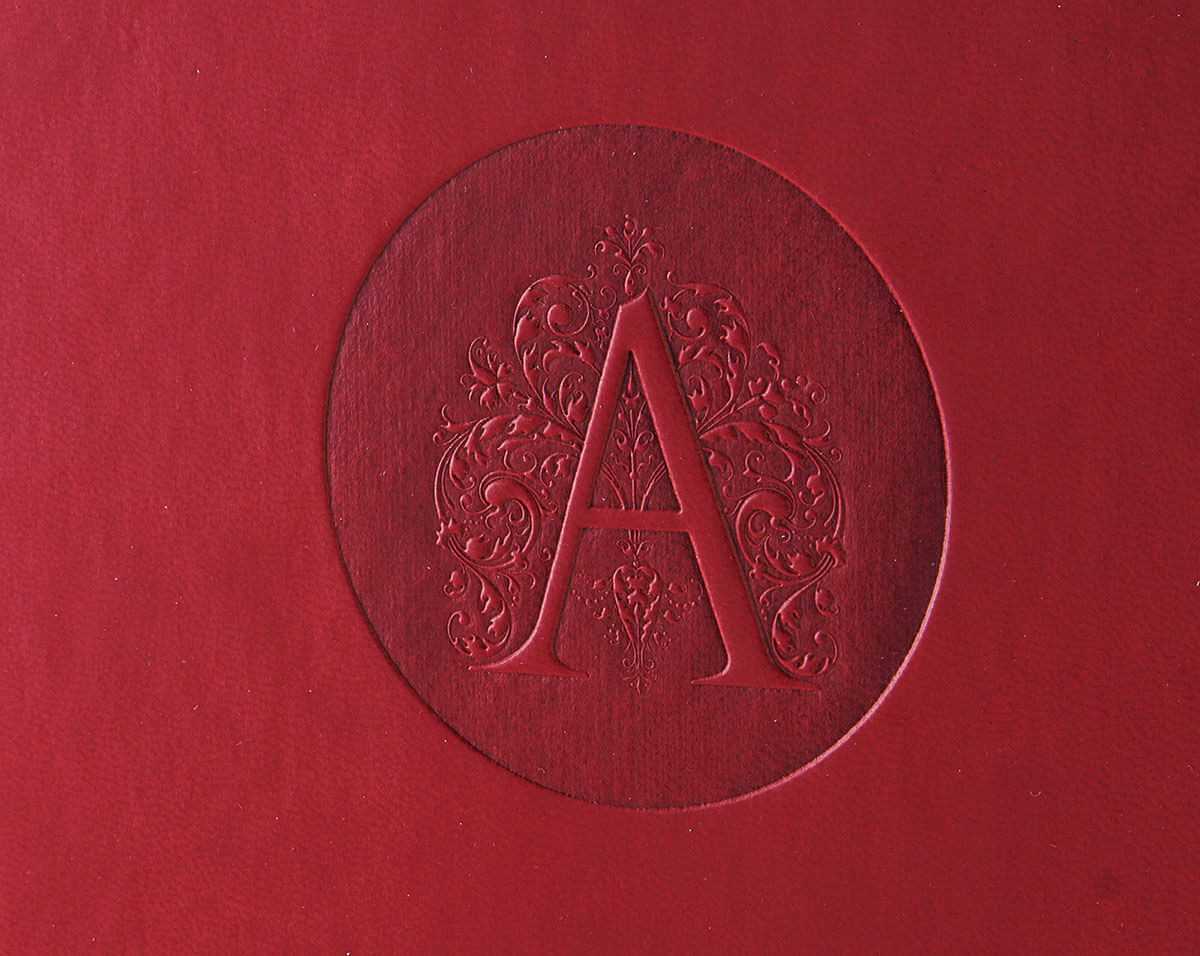 Папка на кольцах А4 кожзам
