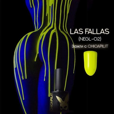 Гель лак CHICAPILIT, Las Fallas   Лас Фаллас,коллекция TOXIC, CHICAPILIT, 10мл