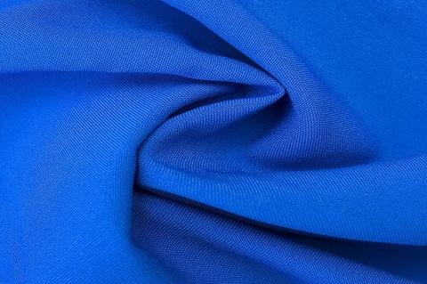 Габардин синий василек