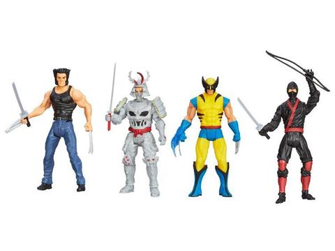 Фигурки Росомаха Бессмертный набор — Wolverine Action Figure Set