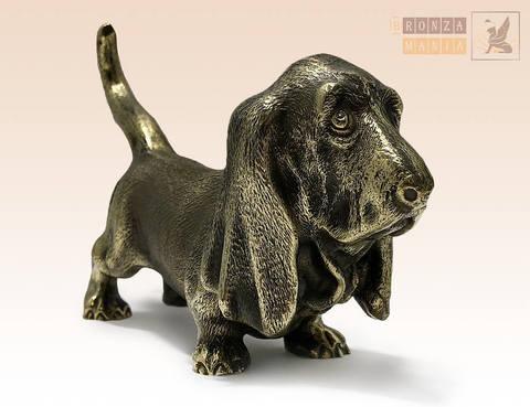 статуэтка Собака Бассет